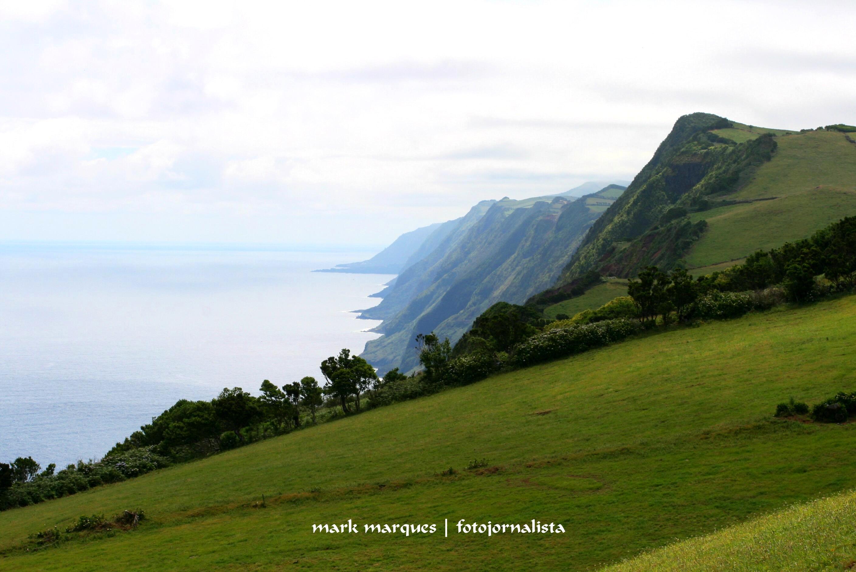 Encosta Norte da Ilha de São Jorge (Açores)