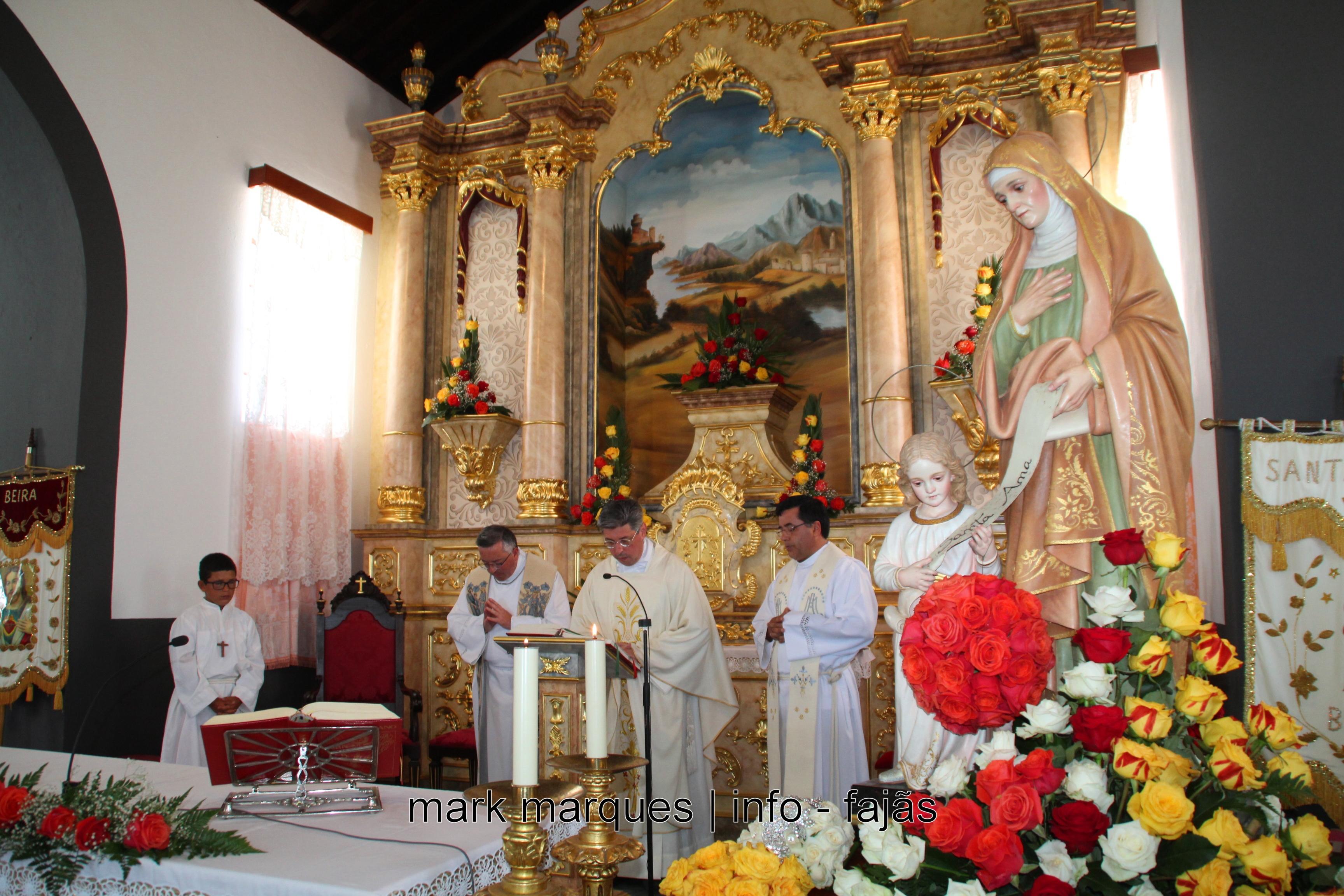 MISSA EM HONRA DE SANT`ANA – BEIRA (VELAS) – (Ilha de São Jorge). (reportagem fotográfica)
