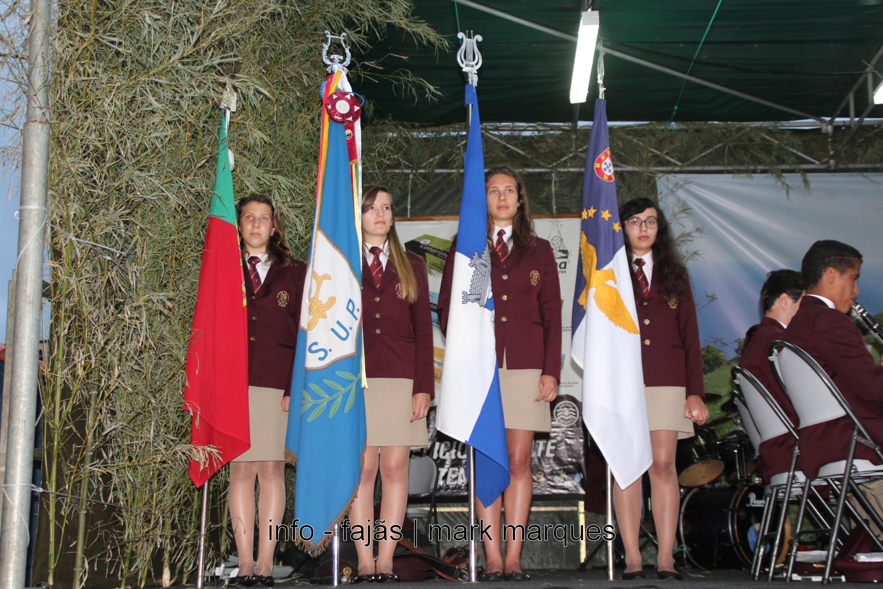 Banda Filarmónica União Popular (Ribeira Sêca) no Festival de Julho. (reportagem fotográfica)