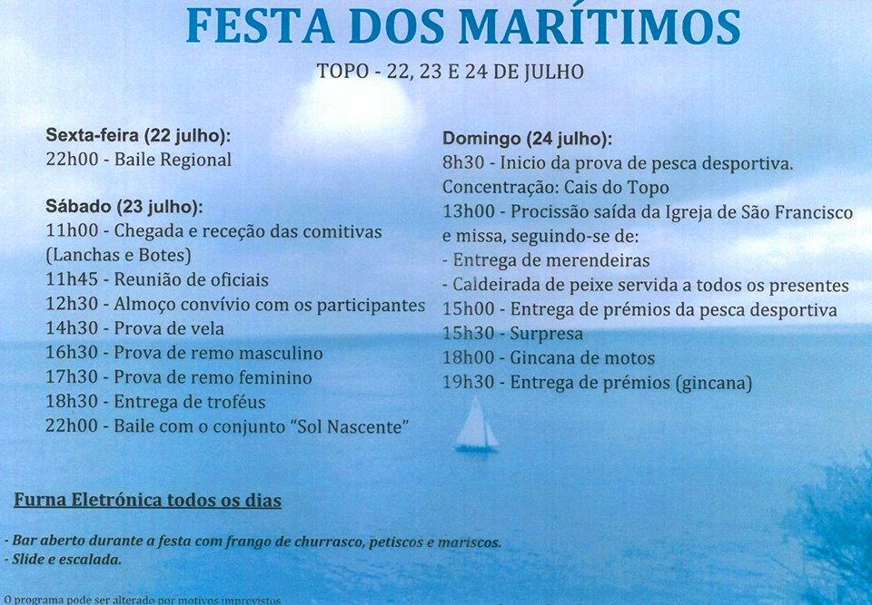 MARÍTIMOS DO TOPO EM FESTA – Ilha de São Jorge.