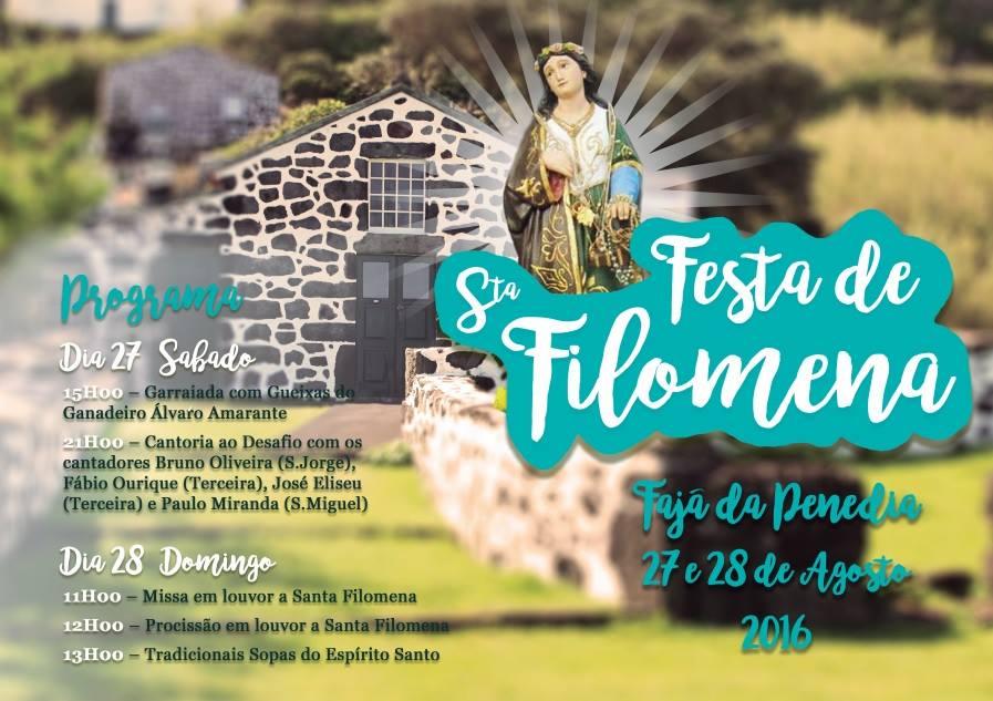 FESTA NA FAJÃ DA PENEDIA – NORTE PEQUENO – ILHA DE SÃO JORGE (27 e 28 de Agosto)