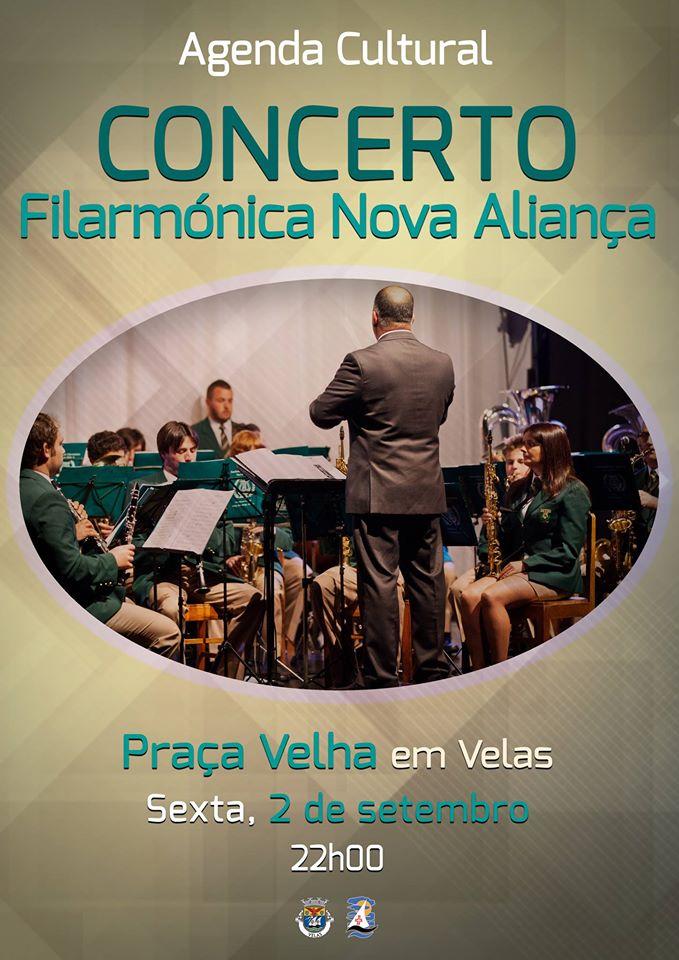 NOVA ALIANÇA EM CONCERTO NA PRAÇA VELHA – SEXTA-FEIRA (2/SET)