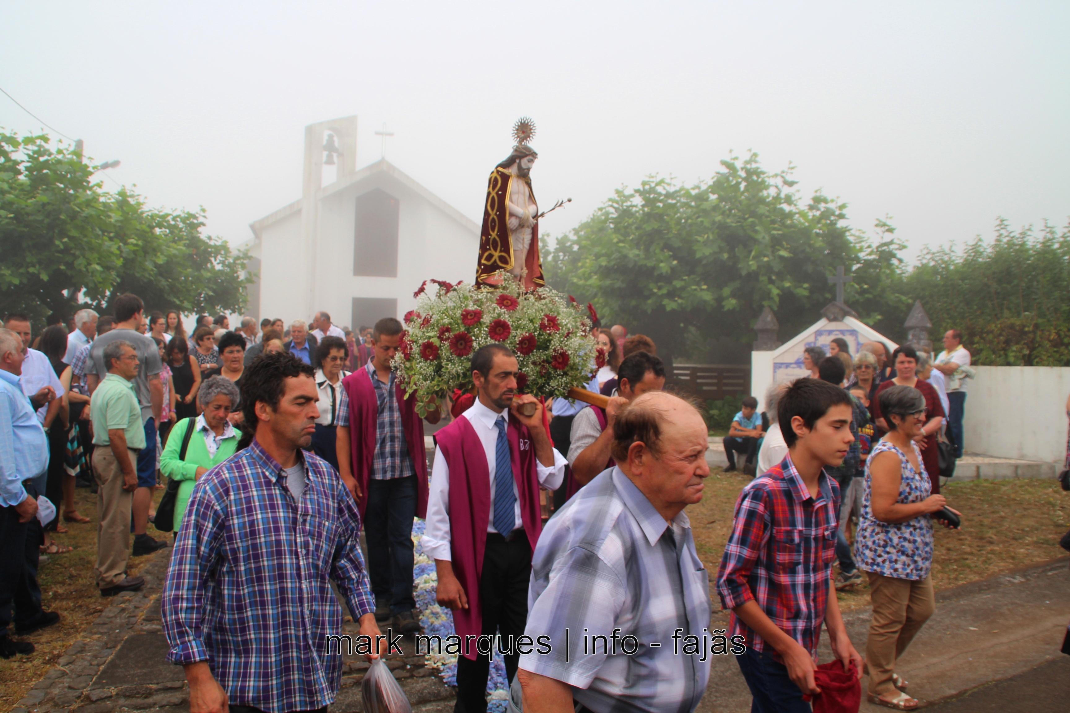 PROCISSÃO DO SENHOR BOM JESUS – CRUZAL – SANTO ANTÃO (Ilha de São Jorge- Açores) (c/ vídeo)