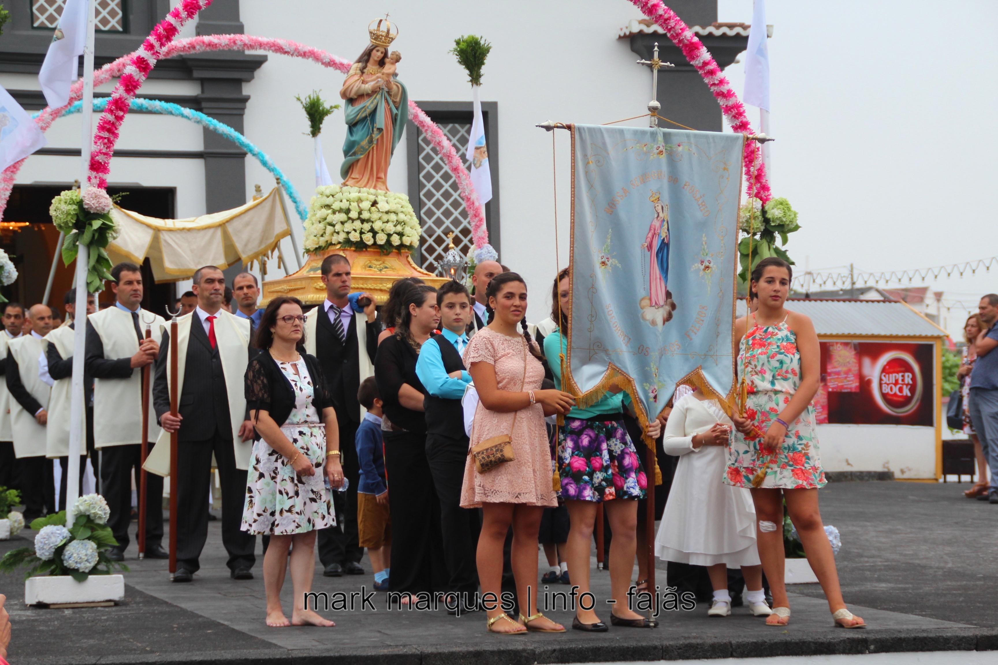 PROCISSÃO DE Nª SRª DO ROSÁRIO – ROSAIS – ILHA DE SÃO JORGE (reportagem fotográfica)