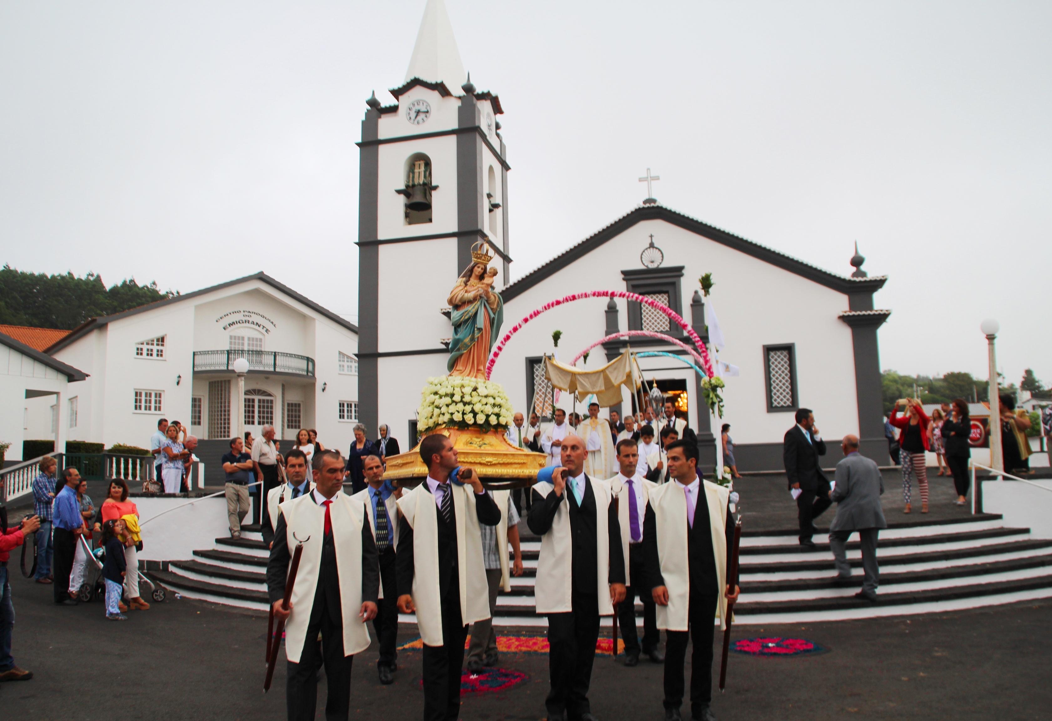PROCISSÃO DE Nª SRª DO ROSÁRIO – ROSAIS – ILHA DE SÃO JORGE (AÇORES) (c/vídeo)
