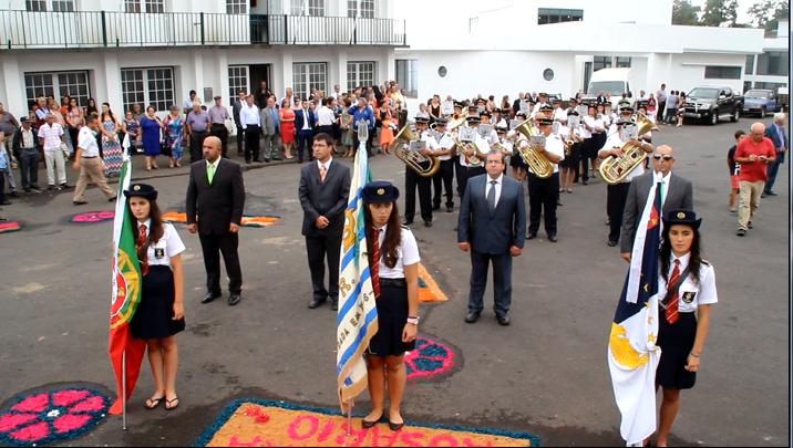 FILARMÓNICA UNIÃO ROSALENSE DESFILA E EXECUTA PASODOBLE – ROSAIS – ILHA DE SÃO JORGE (c/ vídeo)