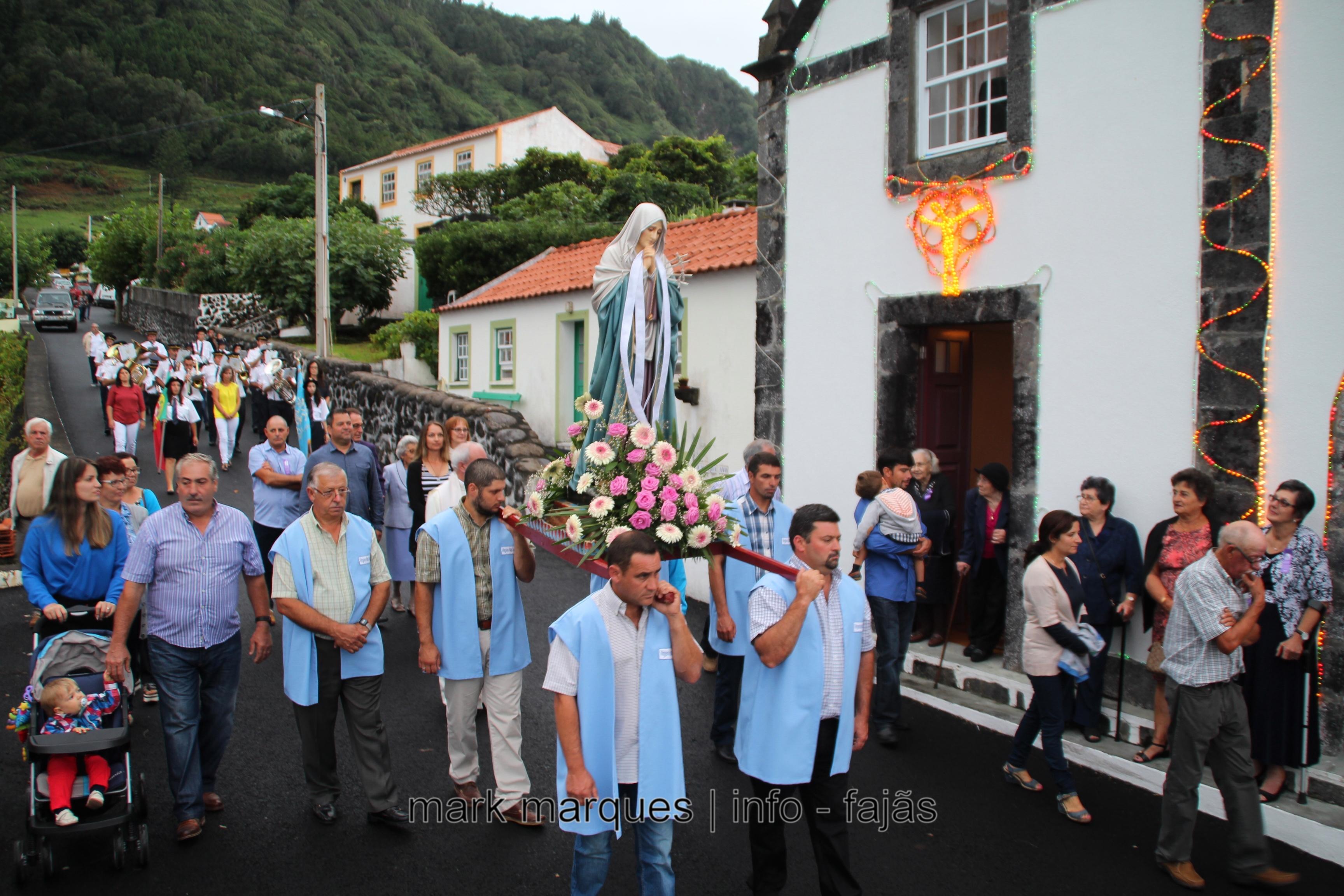 PROCISSÃO NA FAJÃ DO OUVIDOR (NORTE GRANDE) – ILHA DE SÃO JORGE. (reportagem fotográfica)