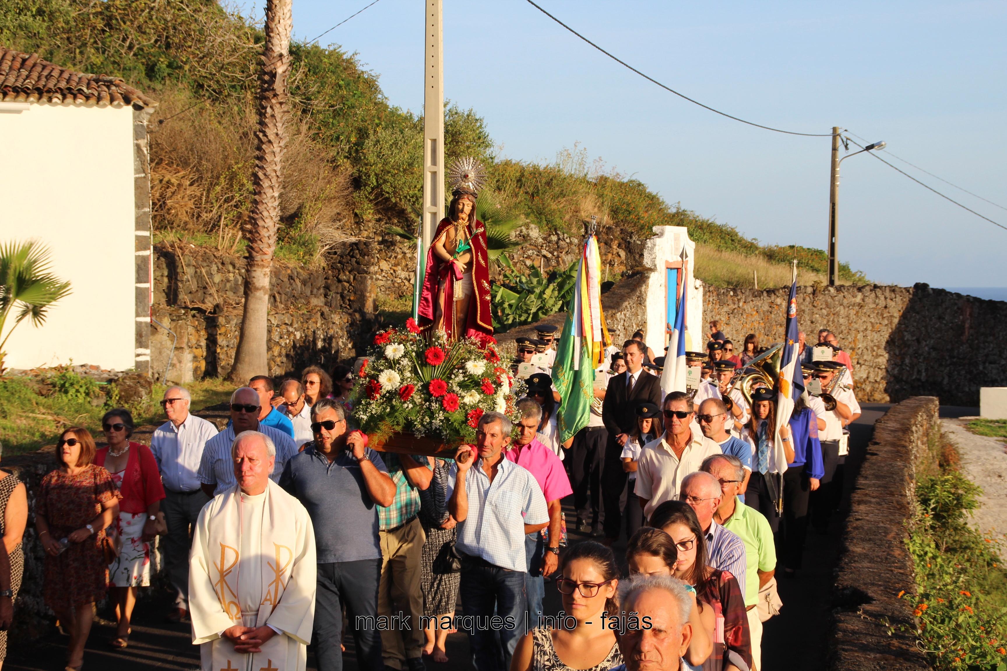 PROCISSÃO DO SENHOR BOM JESUS – FAJÃ GRANDE / CALHETA – ILHA DE SÃO JORGE. (c/ vídeo)