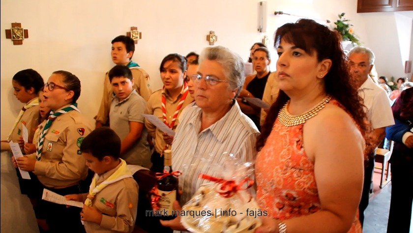 MISSA SOLENE (OFERTÓRIO)– SRA DA ENCARNAÇÃO – RIBEIRA DO NABO (Urzelina) (c/ vídeo)
