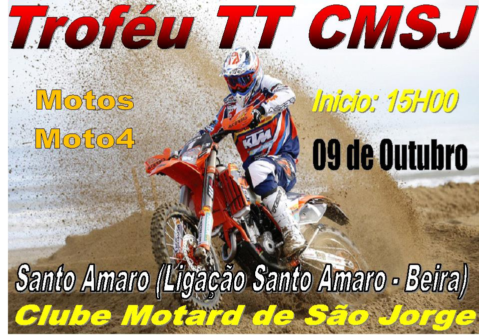 CLUBE MOTARD DE SÃO JORGE ORGANIZA PROVA TT (9 de Outubro)