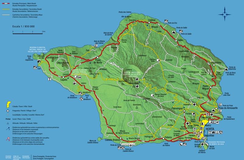 Sismo de magnitude 1,4 sentido na Ilha do Faial (Açores)