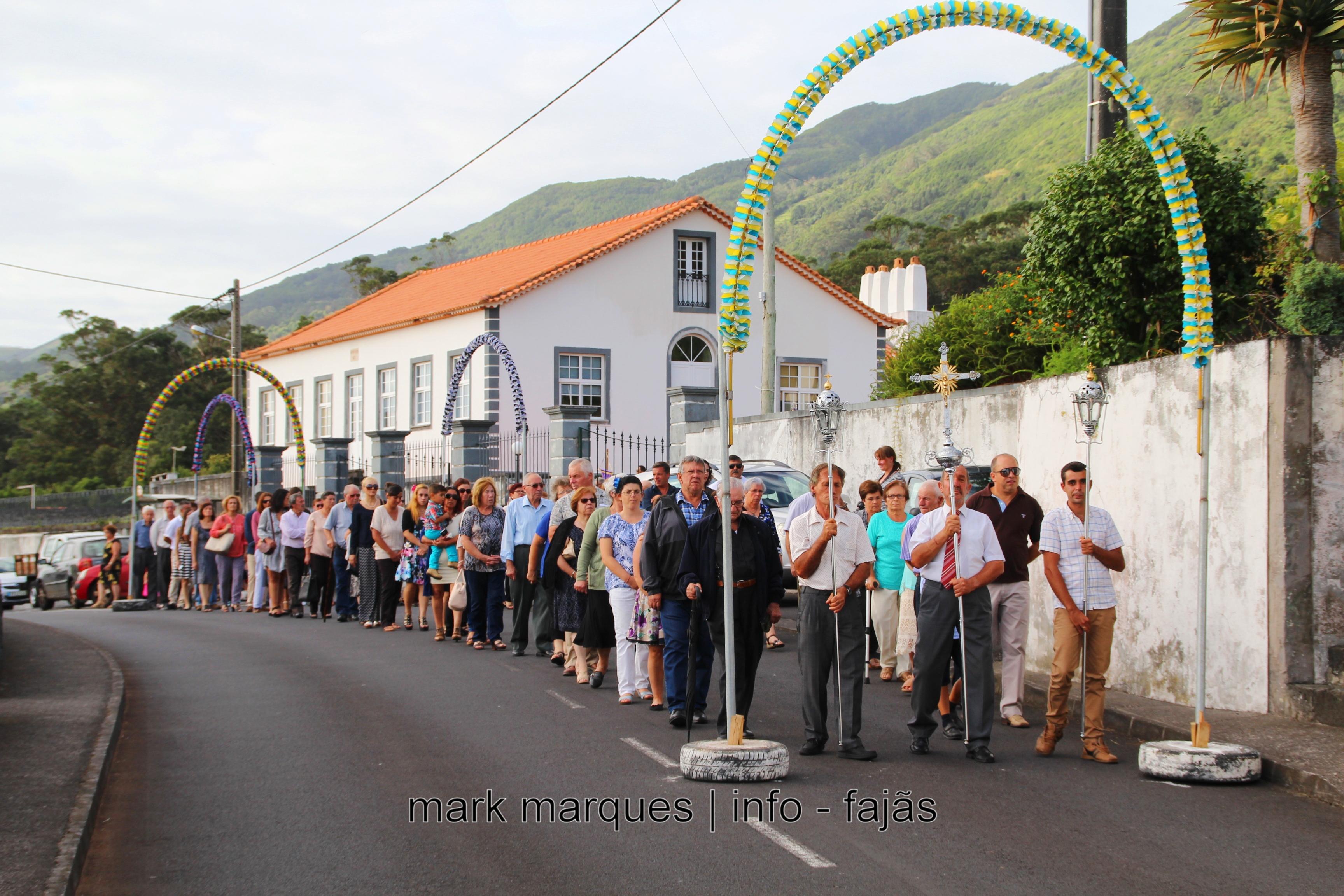 PROCISSÃO EM HONRA DE Nª SRª DA BOA MORTE – URZELINA – SÃO JORGE. (reportagem fotográfica)