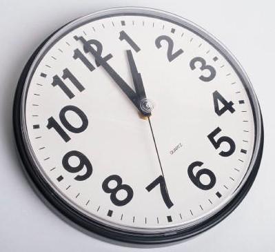 Relógios atrasam 60 minutos para a hora de Inverno. (próximo Domingo dia 30)