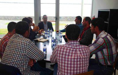 João Ponte reuniu com a Associação Jovens Agricultores Terceirenses para analisar o setor agrícola na ilha Terceira