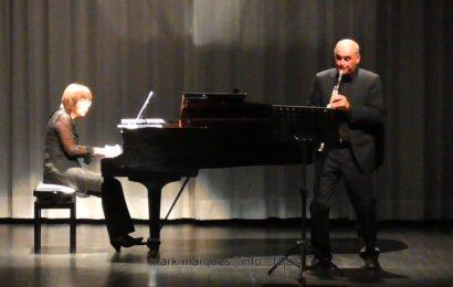 RECITAL DE CLARINETE E PIANO – AUDITÓRIO MUNICIPAL DAS VELAS. (c/ vídeo)