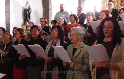 """GRUPO CORAL CANTA """"HINO DE SANTA CATARINA"""" – CALHETA – ILHA DE SÃO JORGE. (c/ vídeo)"""