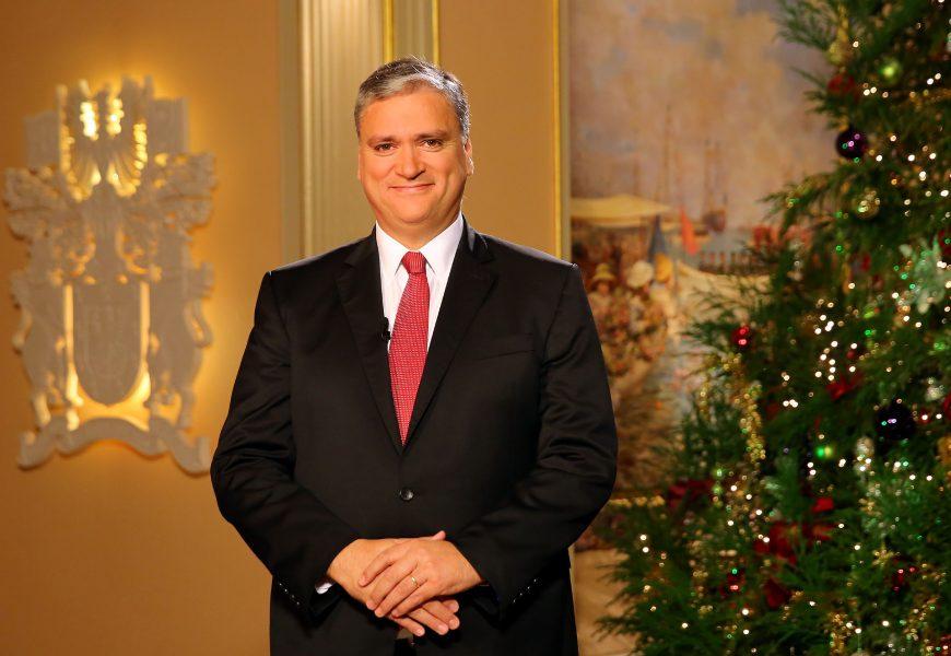 Mensagem de Natal do Presidente do Governo Regional dos Açores