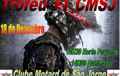 TROFÉU TT – CLUBE MOTARD DE SÃO JORGE – PRÓXIMO DIA 18 (DOMINGO)