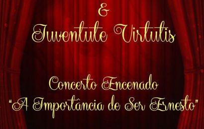 LUSITÂNIA CLUB RECREIO VELENSE E GRUPO DE TEATRO IUVENTUTE VIRTUTIS APRESENTAM UM CONCERTO ENCENADO – 29 / 12 (quinta-feira).