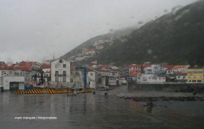 Proteção Civil alerta para previsão de chuva forte os grupos Ocidental e Central dos Açores