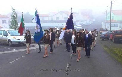 """FILARMÓNICA """"UNIÃO POPULAR"""" DESFILA NA FREGUESIA DO NORTE PEQUENO – ILHA DE SÃO JORGE. (c/ vídeo)"""