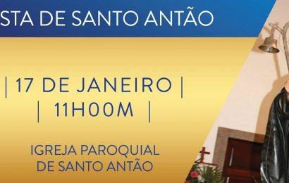 FESTA DE SANTO ANTÃO (Santo Antão – Topo) dia 17 de Janeiro – Ilha de São Jorge