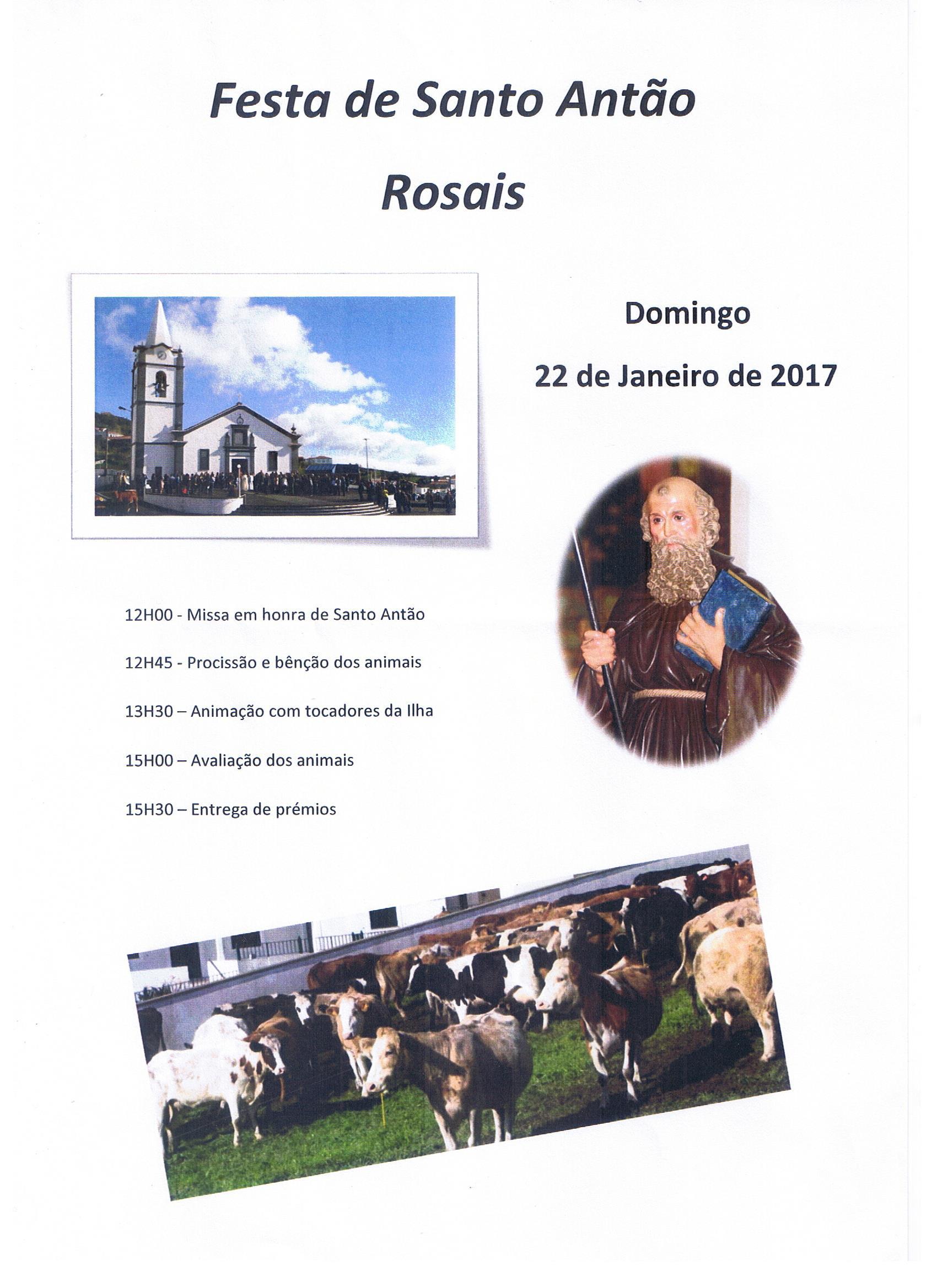 Festa da Santo Antão Rosais