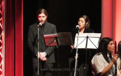 CANTORES LÍRICOS – MARLA MONTEIRO (soprano) e JOSÉ PEDRO SANTOS (barítono) – Auditório Municipal das Velas. (c/ vídeo)