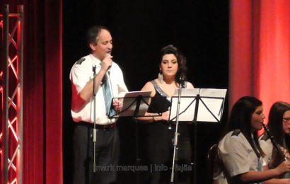 MARLENE CORREIA BETTENCOURT E MARCO REIS (Vozes) no Concerto da Filarmónica Estímulo- Auditório Municipal das Velas. (c/ vídeo)