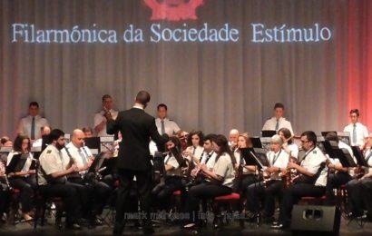FILARMÓNICA DA SOCIEDADE ESTÍMULO EM CONCERTO – AUDITÓRIO MUNICIPAL DAS VELAS (c/ vídeo)