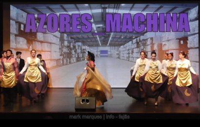 """BAILINHO DE CARNAVAL """"AZORES MACHINA"""" – (1ª de 6 partes) – Auditório Municipal das Velas – Ilha de São Jorge (c/ vídeo)"""