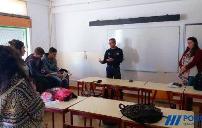 PSP em ações de sensibilização em escolas da Ilha de São Jorge
