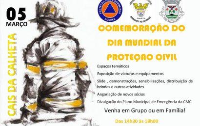 DIA MUNDIAL DA PROTEÇÃO CIVIL – ATIVIDADES NA VILA DA CALHETA – ILHA DE SÃO JORGE. (próximo domingo dia 5)