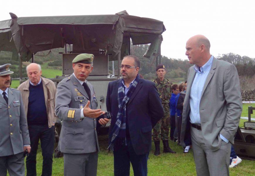 Aplicação para telemóveis da Proteção Civil dos Açores vai estar disponível em inglês, anuncia Rui Luís