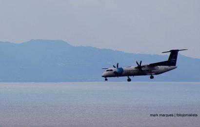 Seis voos cancelados nos Açores, 173 passageiros afetados.