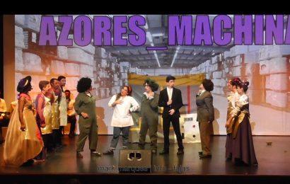 """BAILINHO DE CARNAVAL """"AZORES MACHINA"""" – (3ª de 6 partes) – Auditório Municipal das Velas – Ilha de São Jorge (c/ vídeo)"""