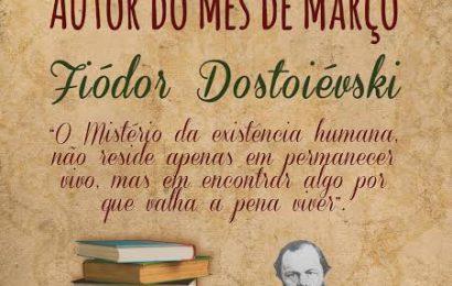 FIÓDOR DOSTOIÉVSKI É AUTOR DO MÊS DE MARÇO NA BIBLIOTECA MUNICIPAL DE VELAS – Ilha de São Jorge.