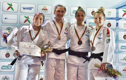Lorrayna Costa atleta do Judo Clube São Jorge, é Vice-Campeã no African Open de Casablanca