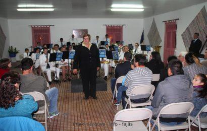 BANDA FILARMÓNICA DE SANTO AMARO COM NOVA SEDE, ANUNCIA A PRESIDENTE DA CASA DO POVO DE SANTO AMARO. (c/ reportagem fotográfica)