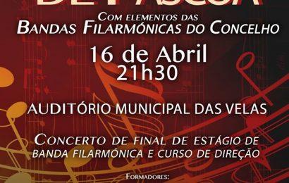 CONCERTO DE PÁSCOA – AUDITÓRIO MUNICIPAL DAS VELAS (Domingo, 16 de Abril) – Ilha de São Jorge