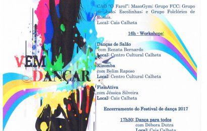 FESTIVAL DE DANÇA 2017 – VILA DA CALHETA – Ilha de São Jorge (Sábado dia 29 de Abril)
