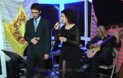 """LINA MONTEIRO E MARCELO MACIEL ATUAM NA REABERTURA DO """"RESTAURANTE URZELINA"""" – Ilha de São Jorge (c/ vídeo)"""
