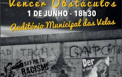 """""""OTIMISMO – VENCER OBSTÁCULOS """" próximo dia 1 de Junho (quinta-feira) no AUDITÓRIO MUNICIPAL DAS VELAS"""
