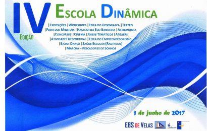 """ESCOLA BÁSICA E SECUNDÁRIA DE VELAS promove a IV Edição da """"Escola Dinâmica"""" (1 de Junho)."""