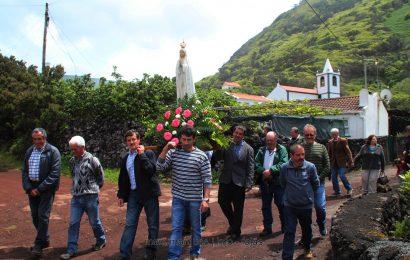PROCISSÃO DE Nª SRª DE FÁTIMA – FAJÃ DA RIBEIRA D`AREIA – Ilha de São Jorge (c/ vídeo)
