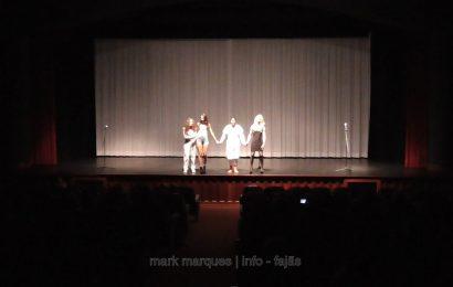 """""""O recital das mulheres traídas"""", CURTAS DE COMÉDIA no Auditório Municipal das Velas – Ilha de São Jorge (c/ vídeo)"""