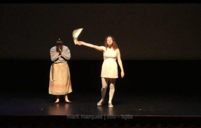 """""""O Milagre"""", CURTAS DE COMÉDIA no Auditório Municipal das Velas – Ilha de São Jorge (c/ vídeo)"""