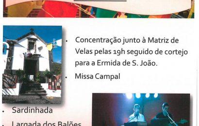 ARRAIAL DE SÃO JOÃO – VILA DAS VELAS – Ilha de São Jorge (dia 23 / sexta-feira)