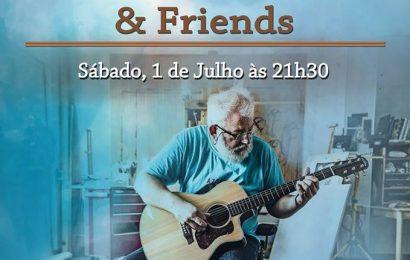 PIETER ADRIAANS & FRIENDS EM CONCERTO NO JARDIM DA REPÚBLICA – Velas – Ilha de São Jorge (1 de Julho)