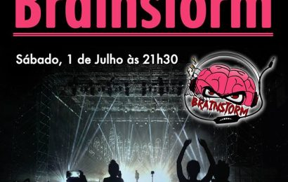 """""""BRAINSTORM"""" EM CONCERTO NO JARDIM DA REPÚBLICA – Ilha de São Jorge (amanhã dia 1 de Julho)"""